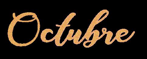 Octubre-glitter-marronn